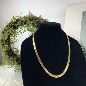 Givenchy gold tone high end costume jewelry